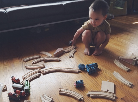 making train tracks...where to start!